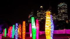 Light Art (Jared Beaney) Tags: canon6d canon australia australian travel photography photographer sydney city light lights statue statues art vividsydney 2018 night bright colour newsouthwales