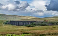 The big sky (Mark Gowing) Tags: 70813 colasrail colas70 ribblehead ribbleheadviaduct train logtrain