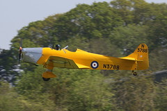Magister (clackzuk) Tags: oldwarden shuttleworthcollection seasonpremiere 2018 miles m14a magister n3788 gakpf