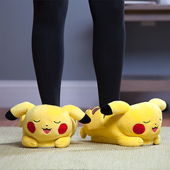 Light-up Pikachu Slippers (mywowstuff) Tags: gifts gift ideas gadgets geeky products men women family home office