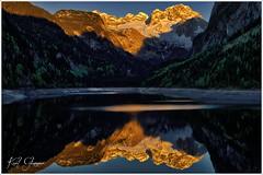Gosausee (Karl Glinsner) Tags: landschaft landscape österreich austria oberösterreich upperaustria salzkammergut outdoors see lake bäume trees wasser water wald woods spiegelung reflection