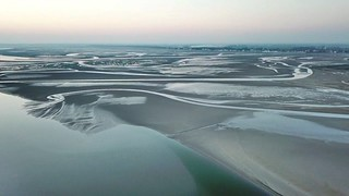 Les bancs de sable de la Baie de Somme (drone)