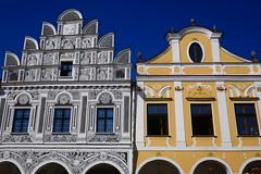 Unusual (Jungle_Boy) Tags: telč czechia czechrepublic europe centraleurope easterneurope travel 2018 square townsquare