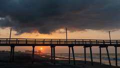 Sunrise at Margate City (PMillera4) Tags: sunrise dawn margate margatecity newjersey jerseyshore beach clouds sun