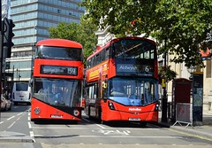 London Buses (PD3.) Tags: london bus buses england uk sight seeing sightseeing psv pcv newroutemaster borismaster nbfl wright wrightbus lt780 lt 780 ltz1780 ltz 1780 abellio vwh2394 vwh 2394 lk67emj lk67 emj metroline