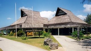 Polynesian memories: Bora Bora Airport, 1993