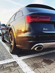 Rear view Audi A6 C7 Avant Allroad (Przemysław K.) Tags: audi a6 c7 avant rims allroad exhaust