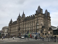 Former Lime Street Station Hotel - Liverpool - August 2018 (firehouse.ie) Tags: downtown street streets city listedbuilding listedbuildings hotel hitel buildings building architecture merseyside limestreetstationhotel england liverpool limestreet stationhotel station