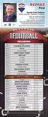 Football #Schedule #ou #osu #cowboys #sooners #2018 (David Cole Dobson) Tags: schedule ou osu cowboys sooners 2018
