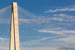 Stan Musial Veterans Memorial Bridge (Mike Matney Photography) Tags: 2018 canon eos6d illinois july midwest mississippiriver stanmusialveteransmemorialbridge sky sunset stlouis unitedstates us