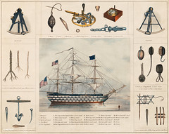 A lithograph illustration of a ship and interiors by Peter Duval. Original from Library of Congress. Digitally enhanced by rawpixel. (Free Public Domain Illustrations by rawpixel) Tags: albertnewsam america american antique apparatus appliance art catalog catcher chain color compartments descriptions device drawing duval equipment gadget illustrated illustration interiors lithograph logistics machine mechanism nautical needstitch old parts peter peterduval ropes sail sailing ship shipanditsfurniture sketch states tools transport united utensil vintage
