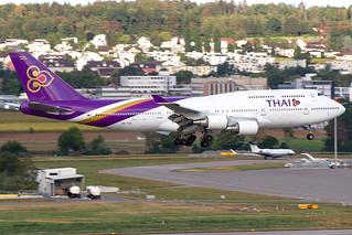 HS-TGA, Boeing 747-4D7, Thai Airways