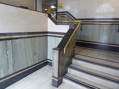 Deco stairs (JuliaC2006) Tags: barnsley library artdeco stairs