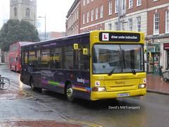 Reading Buses, 0313 [LG02FGA] - Reading (09/03/18) (David's NWTransport) Tags: readingbuses lg02fga plaxtonpointer plaxton pointer dennisdart dennis dart