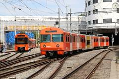 2018-08-07, RBS, Worblaufen (Fototak) Tags: schmalspurbahn treno railway train sbahn rer bern switzerland rbs mandarinli worbla stadler 01 47 s7