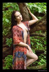 Anne - Kaiwi (madmarv00) Tags: anne d600 nikon girl hawaii kaiwishoreline kylenishiokacom model oahu outdoor woman trees forest woods dress portrait coverup