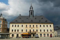 2014-07-05 Town Hall in Annaberg (beranekp) Tags: germany deutschland sachsen saxony erzgebirge krušné hory annaberg town hall