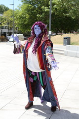 Mollymauk (NekoJoe) Tags: amecon amecon2018 ame ame2018 animeconvention convention cosplay cosplayer coventry criticalrole england gb gbr geo:lat=5237893043 geo:lon=156172022 geotagged midlands mollymauk mollymauktealeaf tiefling uk unitedkingdom warwickartscentre
