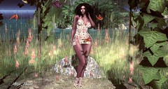 Look 131 (мαчєℓαι ηєιѕѕєя) Tags: second life blog maitreya avatar girl woman secondlife fashion sensual elegant sl le castle struzzi clothes summer laced hot blogger blogging