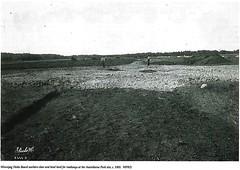 Clearing land in Assiniboine Park, 1905 (vintage.winnipeg) Tags: winnipeg manitoba canada vintage history historic assiniboinepark