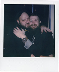 New Year VII (Magnus Bergström) Tags: polaroid polaroid680slr polaroidoriginals polaroidslr680 instant film instantfilm karlstad sweden sverige värmland wermland color portrait party magber00 matpen00
