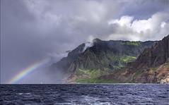 Rainbow over Na Pali (fwsalmon) Tags: waimea hawaii unitedstates us napalicoast kauai canon7dmarkii canon24105l rainbow