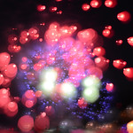 Fireworks abstraction thumbnail