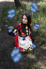 Alice Madness Returns (Jupiter Photography) Tags: alicemadnessreturn royalsuit alice heart queen madness butterfly blue bluebutterfly alicecosplay cosplay heartqueen