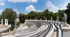 Classical-theater isle stage panorama (spipra) Tags: warsaw warszawa park panorama panoramic europe