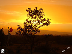 Águas Frias (Chaves) - ... o magnífico pôr do sol em Águas Frias ... (Mário Silva) Tags: aldeia águasfrias chaves trásosmontes portugal ilustrarportugal madeinportugal lumbudus máriosilva agosto 2018 verão pôrdosol paisagem sol