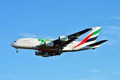 A6-EOW Emirates Airbus A380-800 (czerwonyr) Tags: a6eow emirates airbus a380800 fra eddf