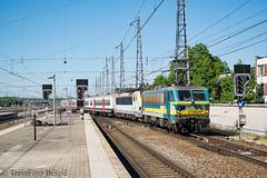 NMBS 2726 Brussel-Noord (TreinFoto België) Tags: nmbs 2726 1888 fbn brusselnoord schaarbeek quevy