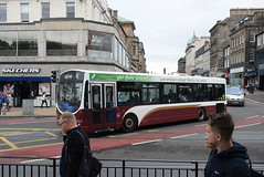 LB 113 @ Princes Street, Edinburgh (ianjpoole) Tags: lothian buses volvo b7rle wright eclipse urban sn04nhd 113 passing the royal scottish academy edinburgh