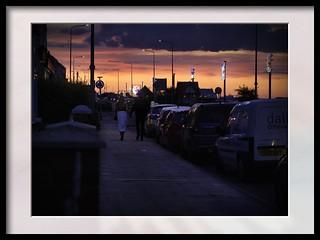 sunset strole