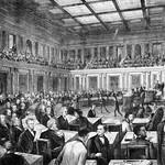 """Vintage print """"The Senate of the United States"""" publis thumbnail"""