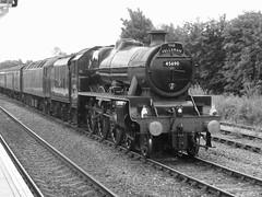 Fellsman (feroequineologist) Tags: fellsman 45690 leander lms wcrc railway train steam mainlinesteam hellifield