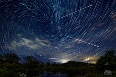 2018 Perseid Meteor Shower - Uxbridge, Ontario (Richard Adams Photography) Tags: stars startrail photoshop composite perseid meteor shower meteorites uxbridge ontario night nightphotography sky vortex