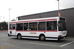Stringers Coaches (Hesterjenna Photography) Tags: mb04bky bu52lee psv bus coach stringers pontefract castleford westyorkshire yorkshire dennis dennisdart transbus travel transport