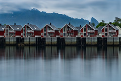 Svolvær (Peter Fuchs) Tags: lofoten islands norway norwegen norge svolvær svolvaer vacation 2018 reflection mirror houses sony a7riii ilce7rm3 nisi filter ndfilter 30 seconds exposure