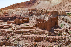 2018-4511 (storvandre) Tags: morocco marocco africa trip storvandre telouet city ruins historic history casbah ksar ounila kasbah tichka pass valley landscape