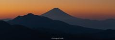 富士山 Mt.Fuji (Masayuki Nozaki) Tags: fuji fujiyama fujisan landscape mountain sky clouds lake japan sunset canon sony sigma 富士山