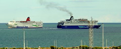 18 08 10 Oscar Wilde and Stena Europe Rosslare (5) (pghcork) Tags: irishferries stenaline oscarwilde stenaeurope rosslare ireland ships shipping ferry ferries carferry