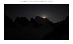 Coucher de lune sur les Ecrins (Fabrice Koeller) Tags: domedesecrins ecrins lune glacier montagne nuit