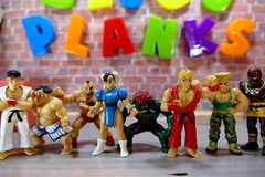 Street Fighter in the House! - Bijou Planks 227/365 (MayorPaprika) Tags: mini figs figure paprihaven pvc miniature smallscale figurine diorama toy story scene custom bricks plastic vinyl theater bijouplanks panasoniclumixdmcfz1000 streetfighter ryu ehonda zangief chunli blanka kenmasters guile dhalsim