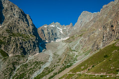 Ecrins (faltimiras) Tags: france frança francia alps alpes ecrins dome de neiges barre des glaciar glacier ice gel hielo valle moutain mountains climbing trekking hiking sunset sunrise