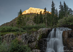 Yankee Boy Basin Waterfall (Ken'sKam) Tags: yankeeboybasin waterfall morning earlymorning geology nature water stream creek colorado mountains rockymountains forest landscape mountain mountainside coloradorockymountains rock rocks