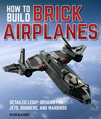 'How to Build Brick Airplanes' by Peter Blackert. Front Cover (lego911) Tags: howtobuildbrickairplanes peter blackert lego911 aircraft airplanes aeroplanes planes jet supersonic fighter stealth biplane triplane red baron wwi wwii lego brick instruction book 2018 mini micro miniland moc model bomber spy