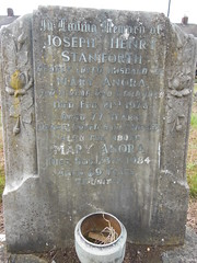 Joseph Henry Staniforth (StaniforthSociety) Tags: beighton hackenthorpe derbyshire sheffield staniforth graves cemetery history ancestry brown
