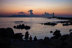 F (francesca.pasqualin94) Tags: favignana sicilia egadi calagrande tramonto faro lighthouse clouds sicily sunset