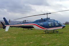 G-RAMI   Bell 206B3 Jet Ranger III [2955] (Helilift) Cheltenham Racecourse~G 15/03/2005 (raybarber2) Tags: 2955 cn2955 egbc flickr grami helicopter johnboardleycollection planebase ukcivil